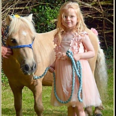 Farm Wedding Pony Child South Farm