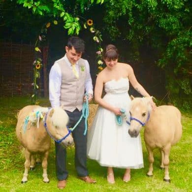 Farm Wedding Cows Rural Bride Groom South Farm