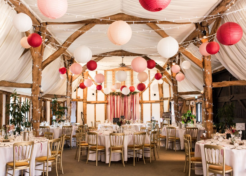 Colourful Wedding Set up in Candy Colours set for dining